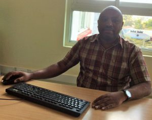 Mr. Simon M Muinuki, Head of Department Physical and Mathematical Sciences